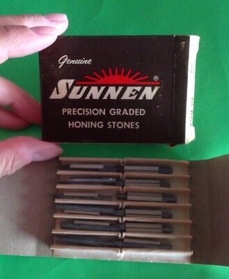 Sunnen Precision Graded Honing Stones Y8a63 Y8-a63 Box Of 12 New Stones