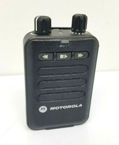 MOTOROLA MINITOR VI (6) 2 Tone Voice Pager 5 Ch Battery Belt Clip Fire Dept EMS
