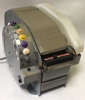 Better Pack Electric Tape Dispenser Model 555s 6 To 36 220watts 115v Used