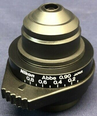 Nikon Abbe Condenser 0.9 Eclipse And I Series Microscope