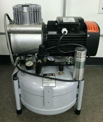 JUN-AIR, Air Compressor, Oil-Less Rocking Piston Electric, 120VAC 6.6 gal 120psi