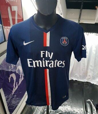 fa87ff63a36 Jersey T-Shirt Trikot Maglia Camiseta Shirt Psg Neymar Cavani Mbappe 2014