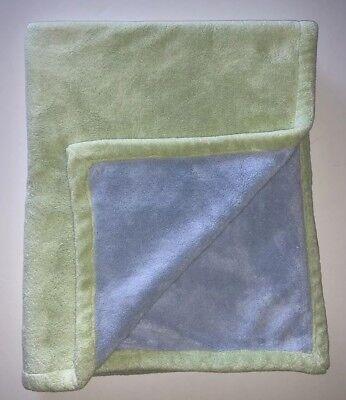 Katie Little Luxury Blanket - KATIE LITTLE for KIDSLINE LUXURY  BLUE GREEN BABY BLANKET A5
