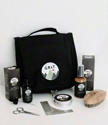 Used, Beard Care Kit From Green Mountain Grooming co. (Casanova scent) for sale  Shipping to India