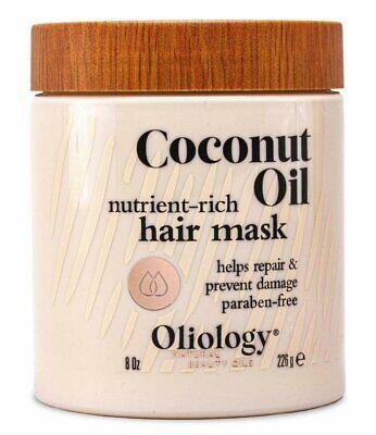 OLIOLOGY Nutrient-Rich Coconut Oil Hair Mask  8 oz/226g