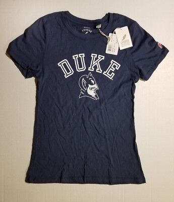 - NCAA DUKE BLUE DEVILS WOMENS T-SHIRT TEE SMALL COLLEGE NWT *FAST SHIPPING*