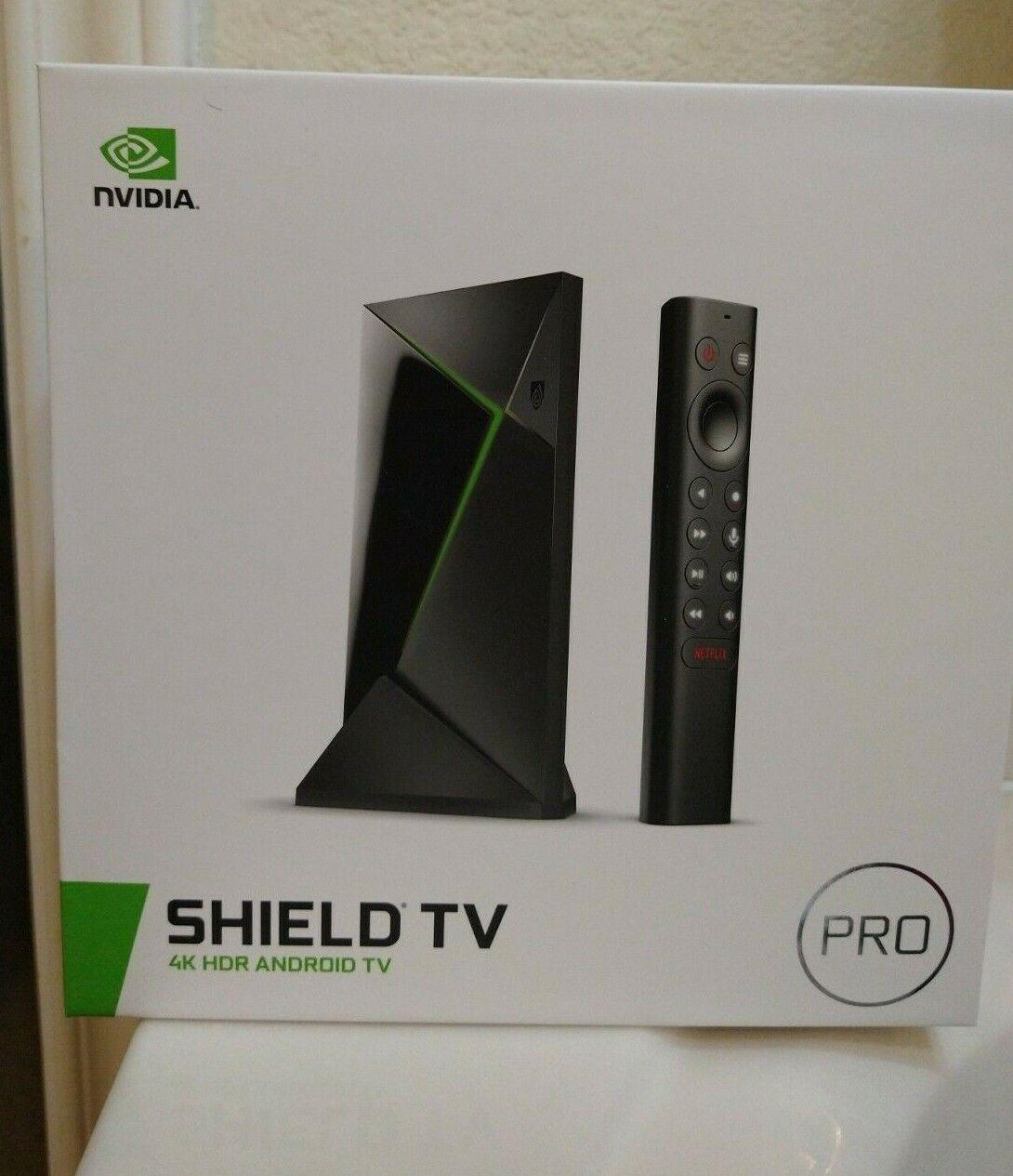 Nvidia Shield TV Pro 4K 2019 model android TV streaming box