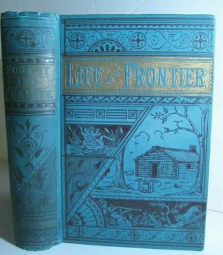 RARE 🔥 LIFE OLD FRONTIER_HUGH GLASS BEAR STORY_INDIAN ATTACKS_NEGRO THIEF_SCOUT