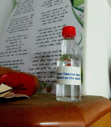 1 Bottle Holy Water from the Sea of Galilee Where Jesus walked on the water