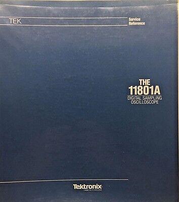Tektronix 11801a Digital Sampling Oscilloscope Service Reference Pn 070-8024-00