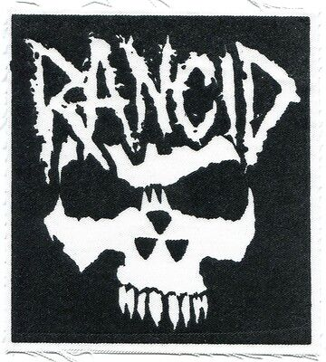 RANCID crimson ghost CLOTH PATCH -sew on **FREE SHIPPING** -punk let's go wolves