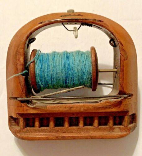 Antique Weaving Shuttle Thread Primitive Needlecraft Crafts Looms