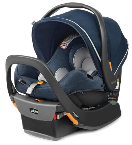 Chicco KeyFit 35 Zip ClearTex Infant Child Safety Car Seat & Base 4-35 lbs Reef