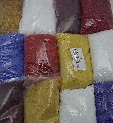 One Pound Uroboros System 96 GLASS FRIT Choice Fine Medium Coarse Clear & Colors
