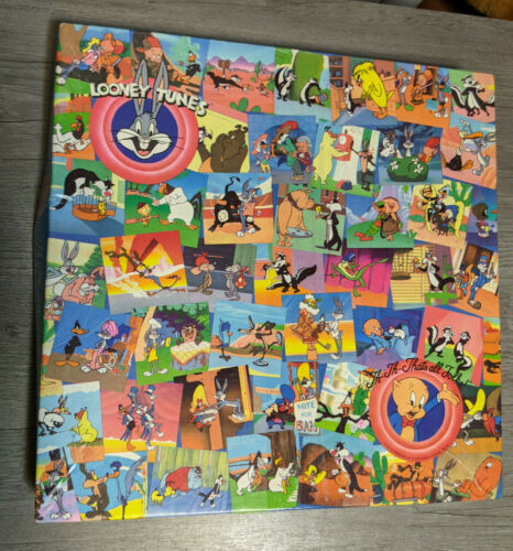Looney Tunes Springbok 500pc. Puzzle Th-Th-That's all Folks, 1991 Warner Bros