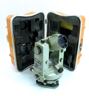 Vintage Geotec T-24 Engineers Op Transit Theodolite Surveying1month Warranty
