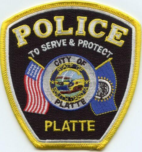 PLATTE SOUTH DAKOTA SD To Serve & Protect POLICE PATCH