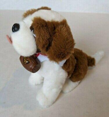 "Christmas Elf on the Shelf Pets St Bernard Dog 7"" Plush Stuffed Toy"