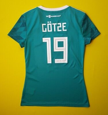 c9421f2d0aa 5+/5 Gotze Germany soccer women jersey SMALL DFB 2018 shirt BR3149 Adidas