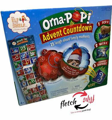 Elf On The Shelf Orna Pop Advent Countdown Calendar Family Tradition Christmas