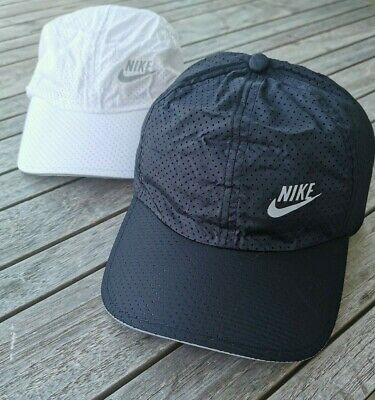 2 Pack NIKE Dry-Fit Running Sports Mesh Caps Hats One Size