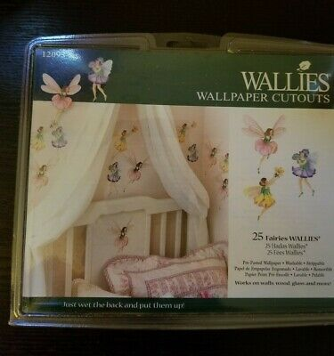 Fairies Wall Decor Stickers Decal Border 25 Wallies Wallpaper Cutout