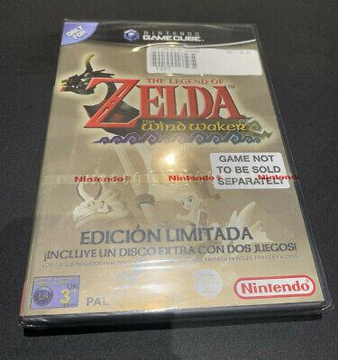 Zelda Wind Waker Gamecube Game Cube PAL ESPAÑOL PRECINTADO NUEVO