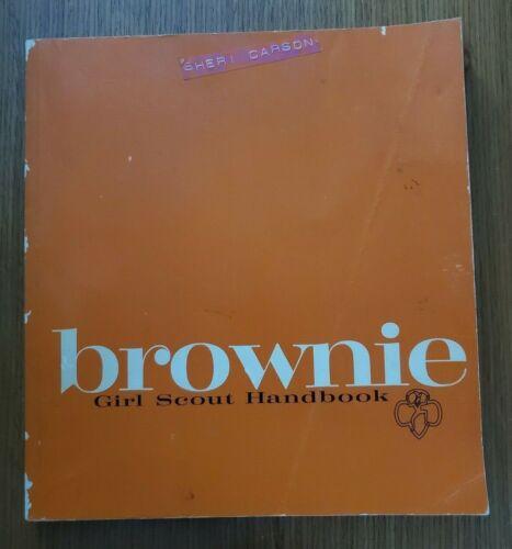 Vintage 1963 Brownie Girl Scout Handbook