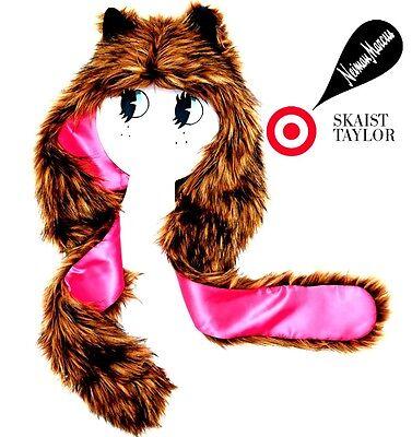NEW Neiman Marcus Target Halloween Costume Bear / Cat Faux-Fur Hat Skaist-Taylor](Cat Halloween Costumes Target)