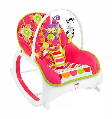Fisher Price Infant to Toddler Rocker Chair, Baby Bouncer Seat