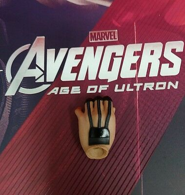 1 6 Hot Toys Age Of Ultron Hawkeye Mms289 Left Palm For Holding Arrow  C