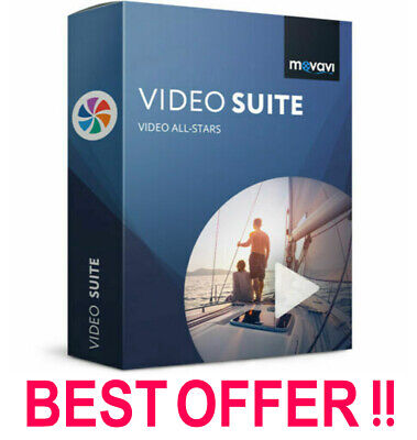 Movavi Video Suite 2020 Video Editor Full Version LifeTime Activated Software 🔥