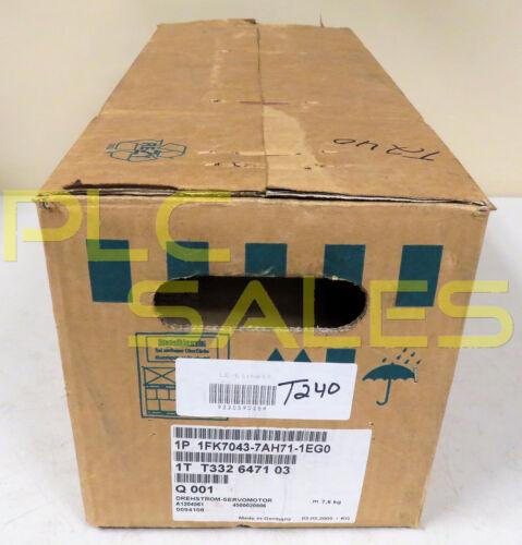 Siemens 1fk7043-7ah71-1eg0  |  Servo Motor  *nib*