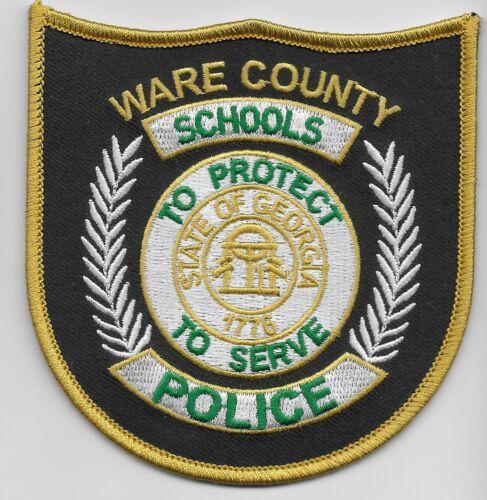 Ware County School Police State Georgia GA NEW