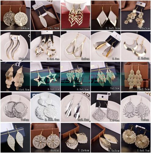 Earrings - 1Pair Elegant Women Lady Hook Drop Fashion Earrings Ear Stud Dangle Jewelry Gift