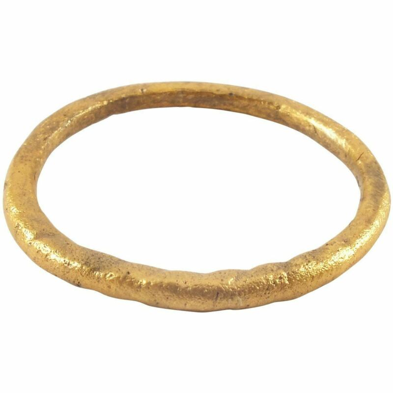 Ancient VIKING TWISTED MOTIF RING 850-1050 AD SIZE 9 ¾