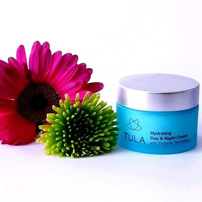 Tula Hydrating Day And Night Cream With Probiotic Technology 1 7Oz Size  Amazing