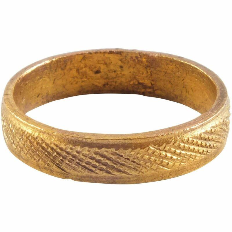 ANCIENT VIKING RING C.900 AD SIZE 7 ½.