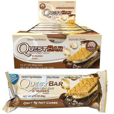 Quest Nutrition Protein Bar S'mores 12 bars (EXP- 8-14-18)