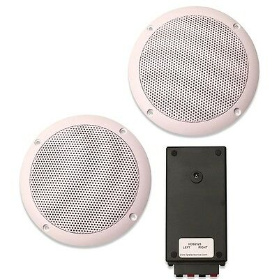 Wireless Bluetooth Ceiling Speakers Waterproof Stereo Kit 30 Watts (S15LW)