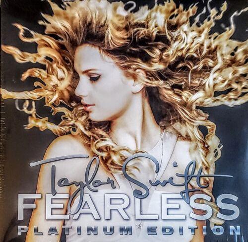 "TAYLOR SWIFT FEARLESS PLATINUM EDITION 180 GRAM VINYL 2 LP SET "" NEW, SEALED """