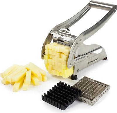 Andrew James Potato Chipper Cutter Chopper Slicer French Fries Chips Vegetables