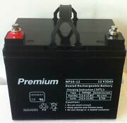 35AH 12V Deep Cycle AGM battery for golf buggy, campervan Southport Gold Coast City Preview