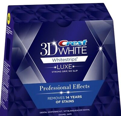 Crest 3D white Whitestrips Professional Effects 20 Strips 10 Pouch, No BOX 2021 (Professional Teeth Whitening)