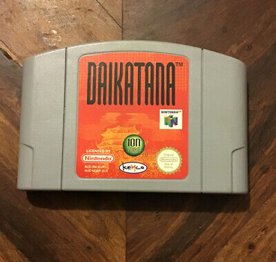 DAIKATANA**OFFICIAL N64 CARTRIDGE ONLY
