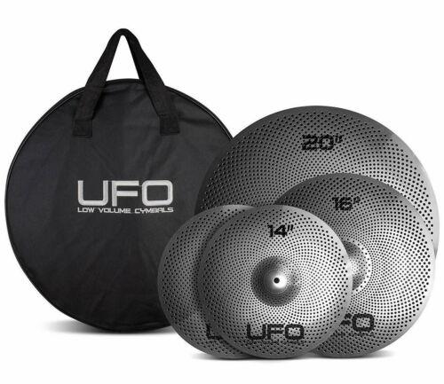 UFO Low Volume Cymbal set with Bag UFO1 - 14