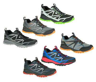 Merrell Capra Bolt Waterproof Trail Running Shoes Mens Terrain Sneakers