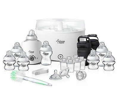 Tommee Tippee Closer to Nature Essentials Starter Kit BPA free