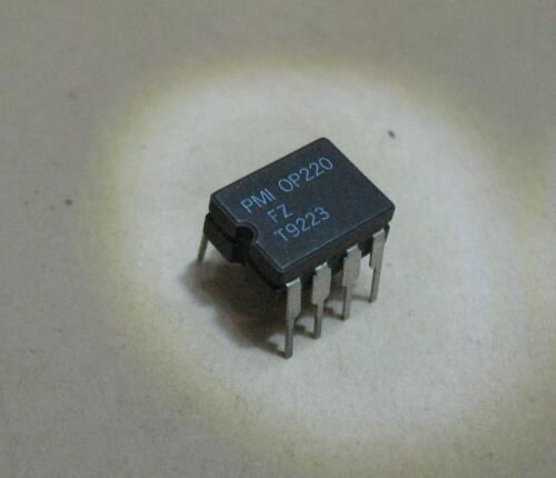 Qty. 1 PMI OP 220 FZ Dual Micro Power Op Amp