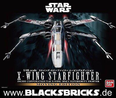 Star Wars X-Wing Fighter Moving Edition, Sound & Light, 1/48 von Bandai, Bausatz